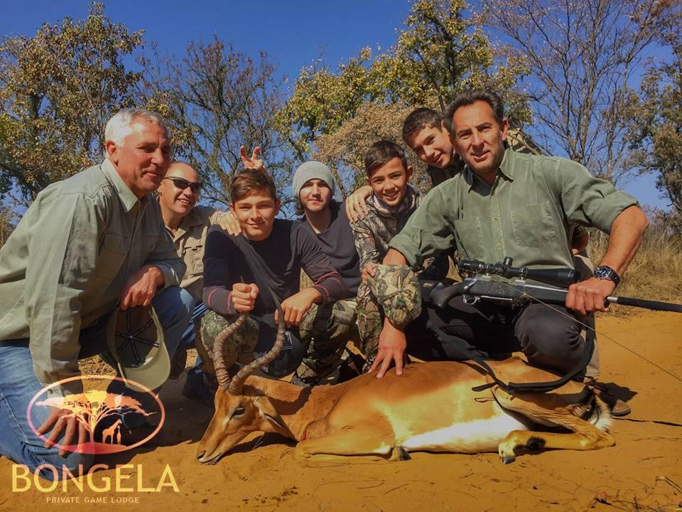 Hunting @ Bongela Safari
